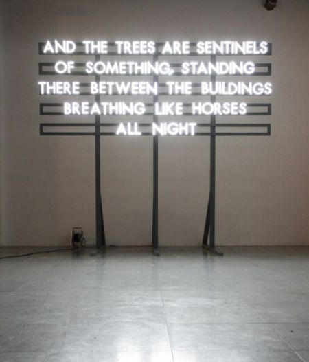 Robert Montgomery, from the Recycled Sunlight series.
