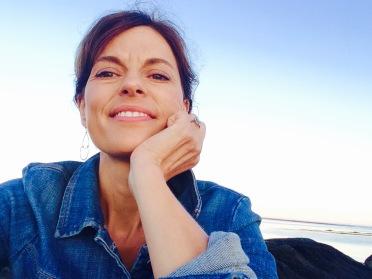 Holly at Goose Rocks Beach, September 2015