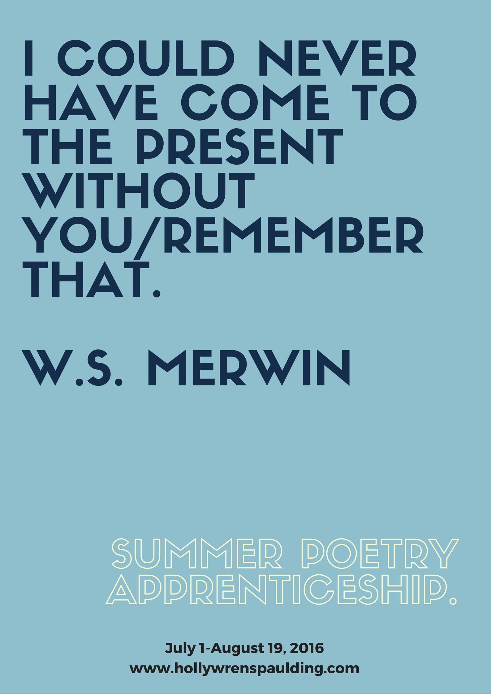 Merwin Summer App 2016